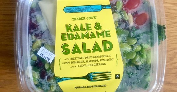 We Ranked 10 Trader Joe S Pre Made Salads With Images Edamame