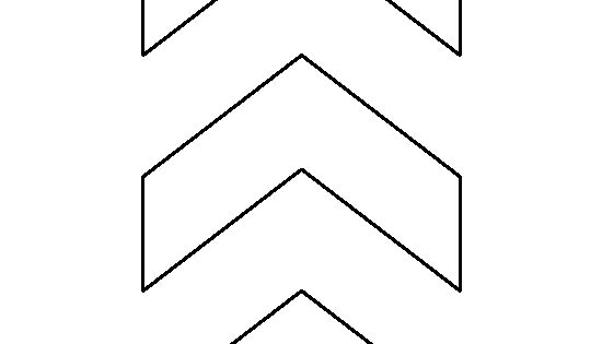 Chevron pattern. Use the printable outline for crafts ...