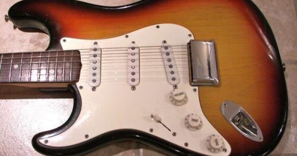 Left Handed 1969 Fender Stratocaster Hard Tail With Images