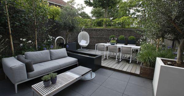 Garden modernetuin stadstuin tuinenhaarlem biesot design tuinen pinterest - Moderne buitentuin ...