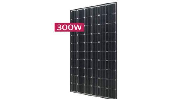 Lg Solar Monox Neon Lg300n1c B3 300 Watt Black Solar Panel Solar Panels Solar Solar Module