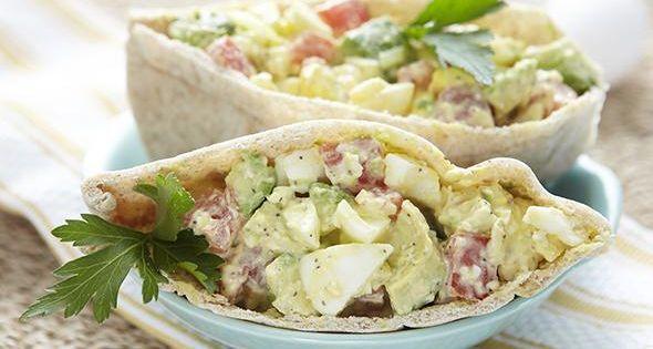 Avocado Egg Salad Recipe Add a creamy twist to traditional egg salad ...