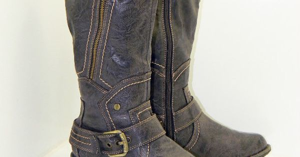womens size 9 gray brown boots by s oliver by rubesrelics on etsy 69. Black Bedroom Furniture Sets. Home Design Ideas