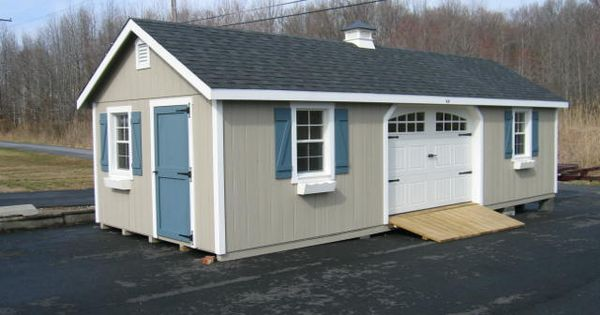 Amish Built Homes In Pa : Amish built garages garden sheds utility buildings