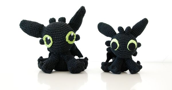 Amigurumi Toothless - FREE Crochet Pattern / Tutorial ...