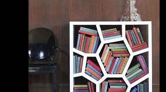Cool Bookcase cool home bookcases - 20 brilliant bookcase designs | honeycombs
