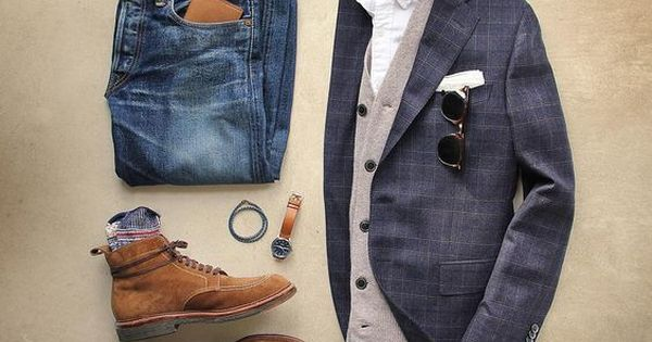 L 39 Association D 39 Une Veste De Costume Et D 39 Un Jeans Pour Un Look Chic Look Oodt Chic Et