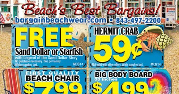 Myrtle beach attraction coupons