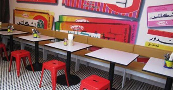 Le Comptoir Lebanese Restaurant Interior Cafe Interior Design Restaurant Interior Restaurant Design