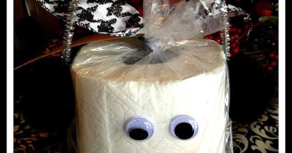 Cute Toilet Paper Christmas Gift idea: Money is scarce and times are