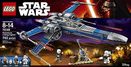 75149 RESISTANCE X-WING FIGHTER star wars lego NEW legos set FORCE AWAKENS BB-8