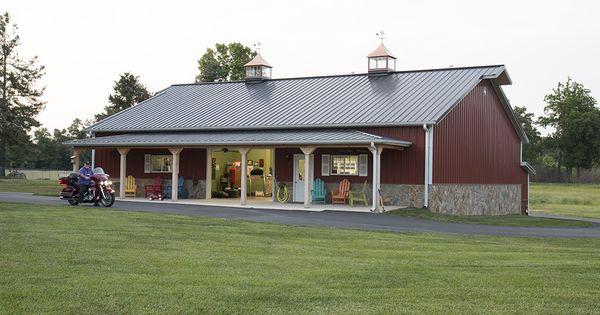 Morton buildings hobby garage in liberty north carolina for Morton building with basement