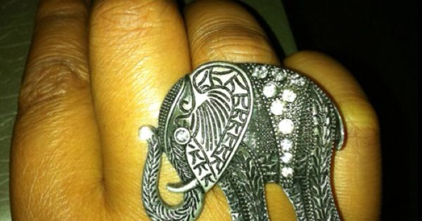 Cocktail rings, Elephants and Cocktails on Pinterest