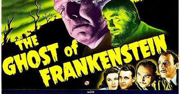 The Ghost Of Frankenstein 1942 Movie Poster Classic Movie