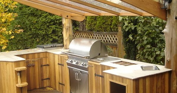 Outdoor Built In Grill Design Ideas Pictures Remodel And