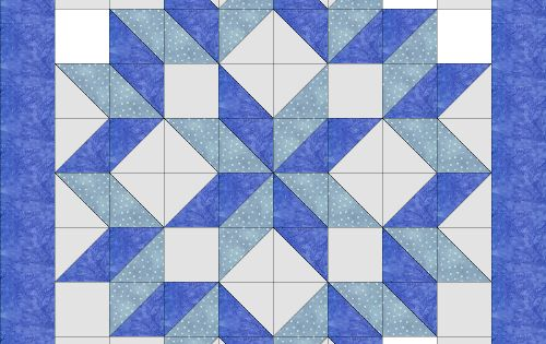 The Carpenter S Star Quilt Super Fast And Easy I Made