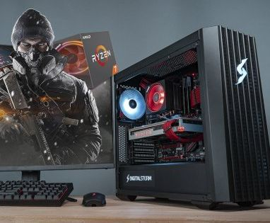 Win A 500 00 Digital Storm Lynx Gaming Pc Equipped With Amd S Ryzen 7 2700x Processor And Radeon Vii Graphics Card Graphic Card Amazon Gift Cards Gaming Pc
