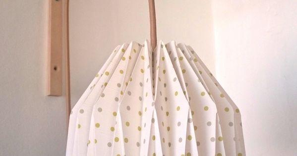 Lampe de chevet applique murale en origami recette nnoel pinterest orig - Lampe de chevet applique ...