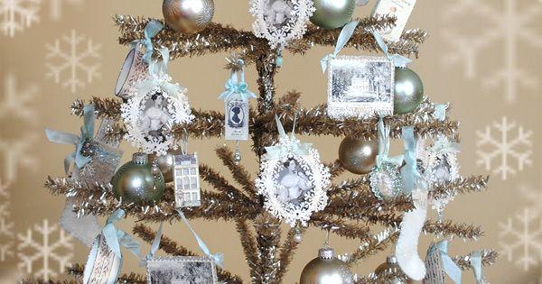 Christmas Tree With Photos.