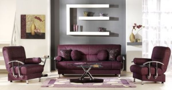 Burgundy Purple And Grey Living Room Pinterest