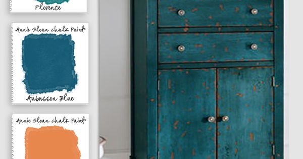Colorways with Leslie Stocker »Chalk Paint™ by Annie Sloan Blues and Greens