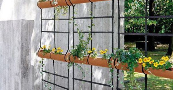 Jardim vertical para cerrar tecgi nateri gustos - Biombos para jardin ...
