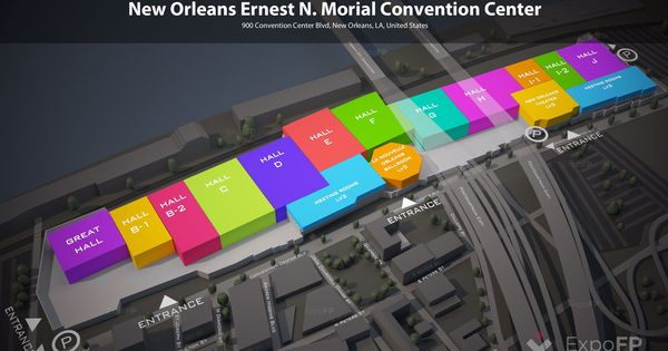 Morial Convention Center Convention Centre Convention How To Plan