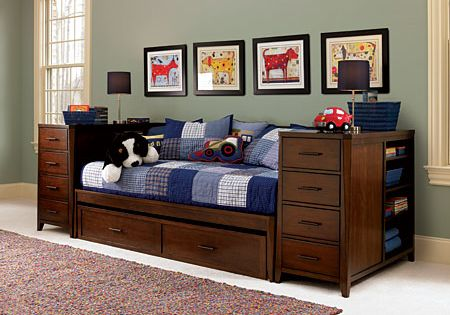 boys bedroom furniture boys bed with trundle kendall daybed with trundle 10925