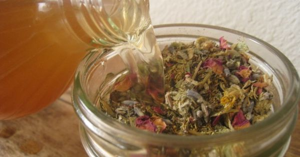 Make your own herbal astringent...great for oily and acne prone skin! Ingredients