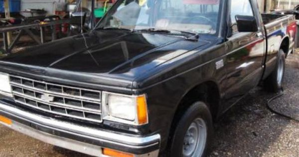 Used 1987 Chevrolet S 10 Pickup Truck For Sale In Kansas Chevrolet S 10 Cheap Cars For Sale Pickup Trucks For Sale