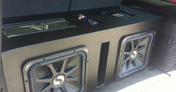 15 Kicker L7 Custom Box Car Audio Systems Car Stereo Systems Car Audio Installation