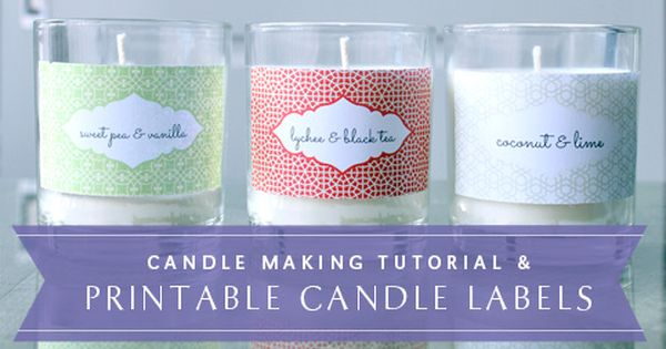 Lucrative image in free printable candle labels