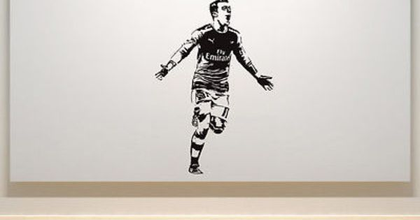 Mesut Ozil Arsenal Football Player Bedroom Decal Wall Art Sticker Picture Ozi View More On The Link Http Www Decal Wall Art Wall Decals Sticker Wall Art