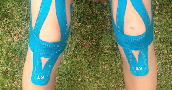 Kt Tape Pro Full Knee Support Tape And Photos