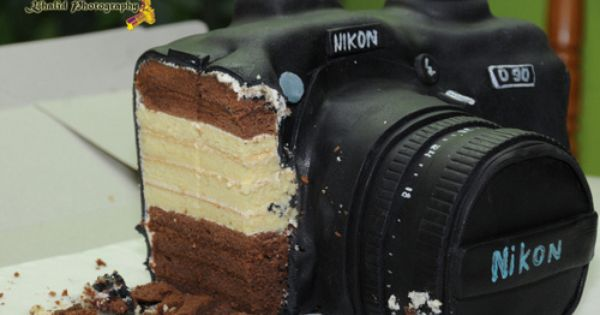 ... . | Good Eats | Pinterest | Camera Cakes, Cameras and Nikon Cameras