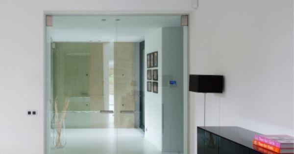 Dubbele glazen deur op maat van anyway doors glazen for Hedendaags interieur