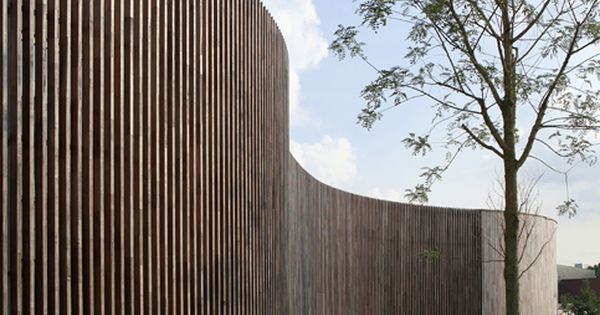 Fence at Instituut Verbeeten, Breda (NL)