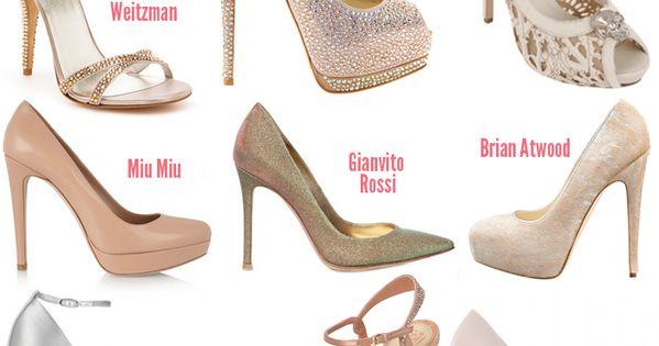 Designer wedding shoes     #pumps #wedding #heels #platforms #bride #shoes #nude #pink