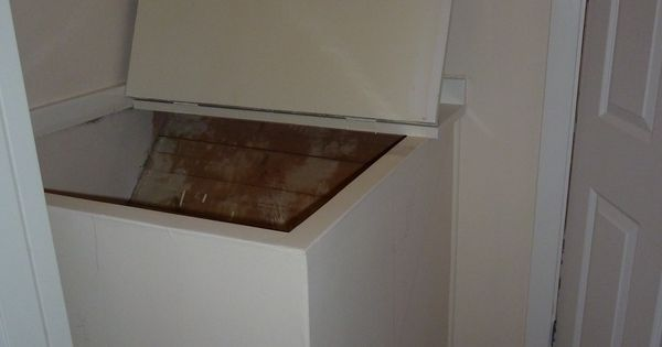 Image Result For Bed Built Over Stair Box: Before: Box Room, Cupboard Over Stairs