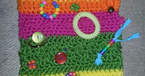 Free Crochet Pattern For Twiddle Muff : Twiddle muff for dementia patients. Free pattern on ...