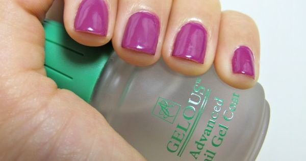 Easy Amp Inexpensive Gel Nail Tutorial Uses Normal Nail