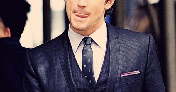 matt bomer | licking lips