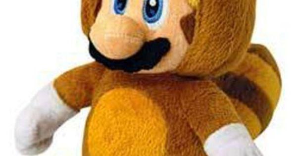 Nintendo 28cm Sanei Super Mario Bros Plush Tanooki Mario ...