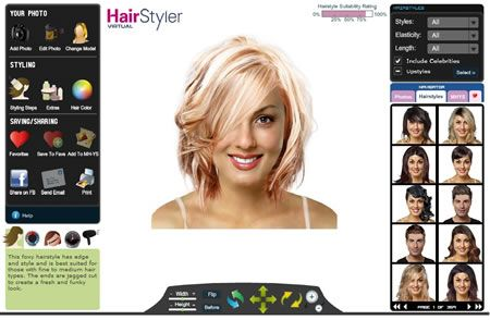 Find Hairstyles Online Virtual Hairstyles Hair Styles Try Different Hairstyles