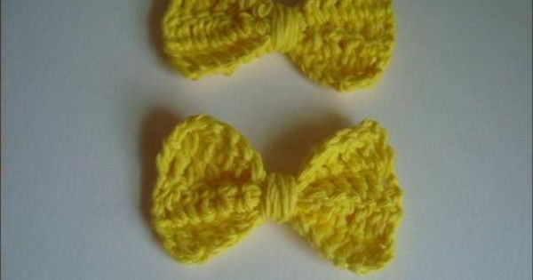 Crochet, Bows and Videos on Pinterest