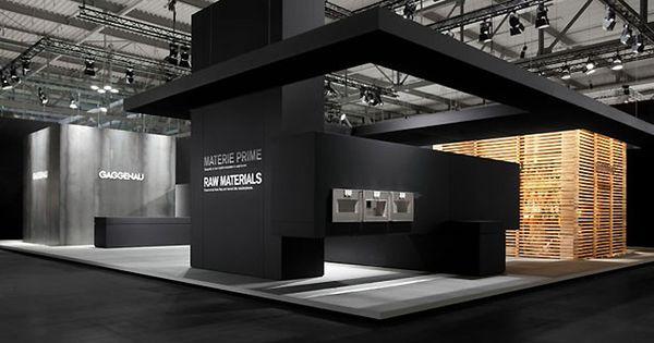 Exhibition Stand Design Trends 2017 : Gaggenau stand at eurocucina by eins milan