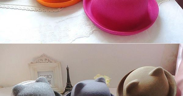 cute cat ear hats