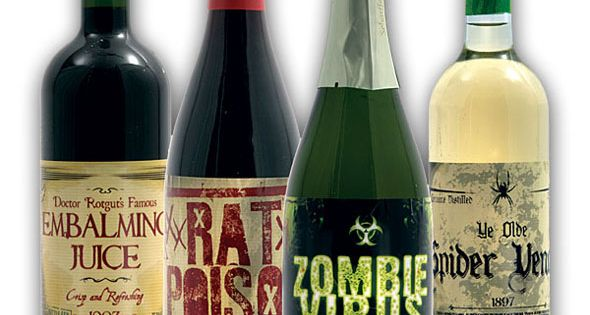 #Halloween Wine Bottle Stickers (8 count) halloween decor see..