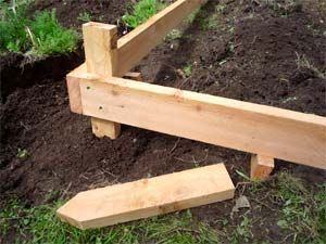 How To Build A Raised Garden Bed On Sloping Uneven Ground With