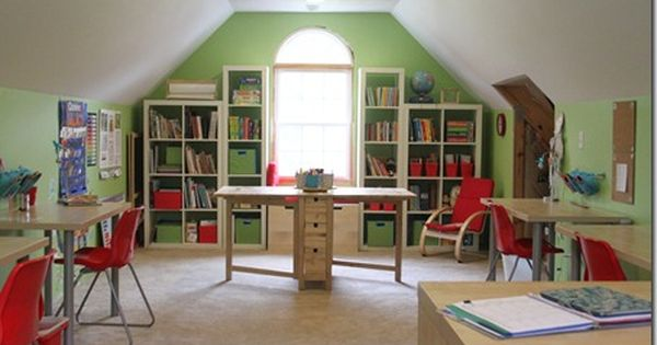homeschool space | Homeschool Room